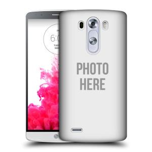 Plastové pouzdro na mobil LG G3 HEAD CASE s vlastním motivem