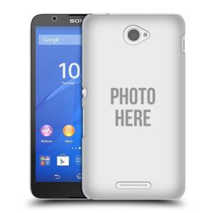 Plastové pouzdro na mobil Sony Xperia E4 E2105 HEAD CASE s vlastním motivem