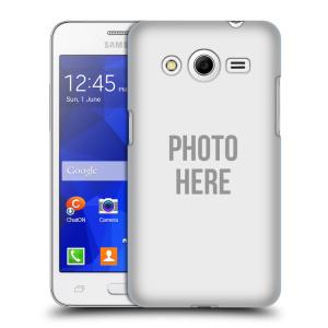 Plastové pouzdro na mobil Samsung Galaxy Core 2 HEAD CASE s vlastním motivem