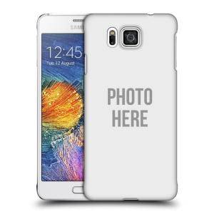 Plastové pouzdro na mobil Samsung Galaxy Alpha HEAD CASE s vlastním motivem