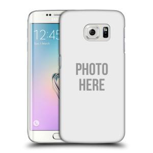 Plastové pouzdro na mobil Samsung Galaxy S6 Edge HEAD CASE s vlastním motivem