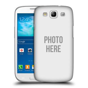 Plastové pouzdro na mobil Samsung Galaxy S III HEAD CASE s vlastním motivem