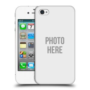Plastové pouzdro na mobil Apple iPhone 4 a 4S HEAD CASE s vlastním motivem
