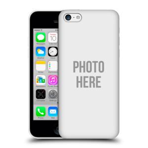 Plastové pouzdro na mobil Apple iPhone 5C HEAD CASE s vlastním motivem
