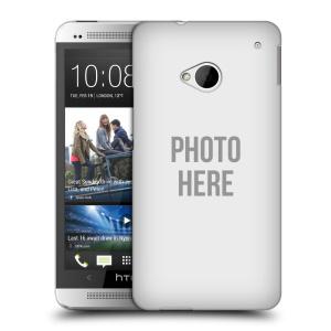 Plastové pouzdro na mobil HTC ONE M7 HEAD CASE s vlastním motivem