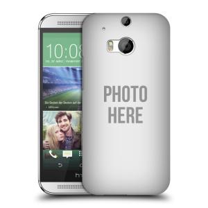 Plastové pouzdro na mobil HTC ONE M8 HEAD CASE s vlastním motivem
