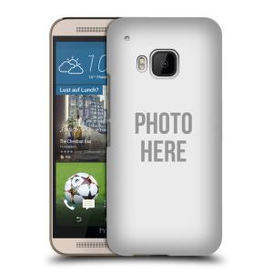 Plastové pouzdro na mobil HTC ONE M9 HEAD CASE s vlastním motivem