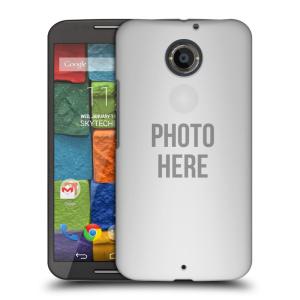 Plastové pouzdro na mobil Motorola Moto X 2ND GENERATION HEAD CASE s vlastním motivem