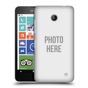 Plastové pouzdro na mobil Nokia Lumia 630 HEAD CASE s vlastním motivem
