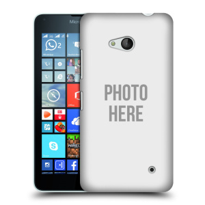 Plastové pouzdro na mobil Microsoft Lumia 640 HEAD CASE s vlastním motivem