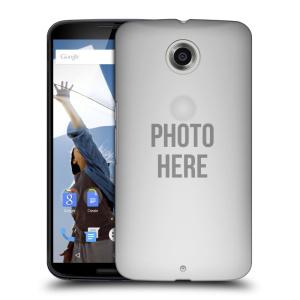 Plastové pouzdro na mobil Motorola Nexus 6 HEAD CASE s vlastním motivem
