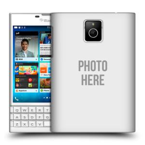Plastové pouzdro na mobil Blackberry PASSPORT HEAD CASE s vlastním motivem