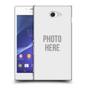Plastové pouzdro na mobil Sony Xperia M2 D2303 HEAD CASE s vlastním motivem