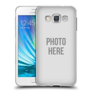 Silikonové pouzdro na mobil Samsung Galaxy A3 HEAD CASE s vlastním motivem