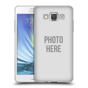 Silikonové pouzdro na mobil Samsung Galaxy A5 HEAD CASE s vlastním motivem