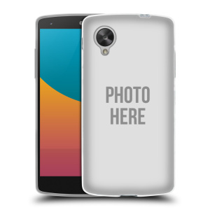 Silikonové pouzdro na mobil LG Nexus 5 HEAD CASE s vlastním motivem