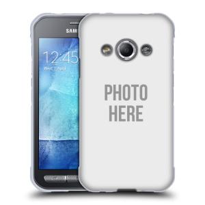 Silikonové pouzdro na mobil Samsung Galaxy Xcover 3 HEAD CASE s vlastním motivem