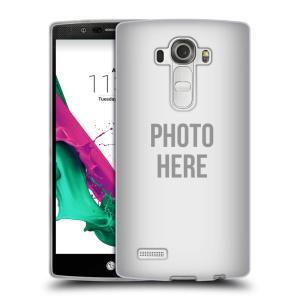 Silikonové pouzdro na mobil LG G4 HEAD CASE s vlastním motivem