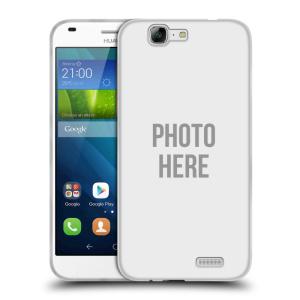 Silikonové pouzdro na mobil Huawei Ascend G7 HEAD CASE s vlastním motivem