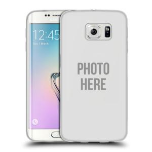 Silikonové pouzdro na mobil Samsung Galaxy S6 Edge HEAD CASE s vlastním motivem