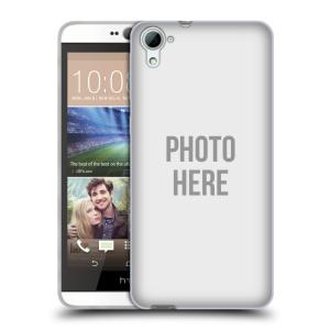 Silikonové pouzdro na mobil HTC Desire 826 HEAD CASE s vlastním motivem