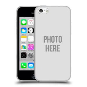 Silikonové pouzdro na mobil Apple iPhone 5C HEAD CASE s vlastním motivem
