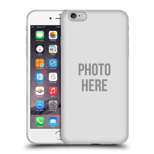 Silikonové pouzdro na mobil Apple iPhone 6 Plus HEAD CASE s vlastním motivem