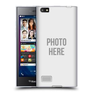 Silikonové pouzdro na mobil Blackberry Leap HEAD CASE s vlastním motivem