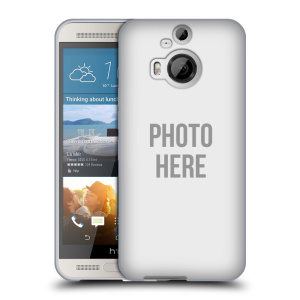 Silikonové pouzdro na mobil HTC One M9+ (Plus) HEAD CASE s vlastním motivem