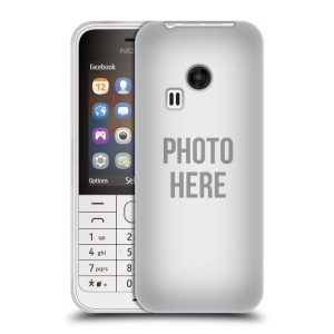 Silikonové pouzdro na mobil Nokia 220 HEAD CASE s vlastním motivem