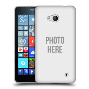 Silikonové pouzdro na mobil Microsoft Lumia 640 HEAD CASE s vlastním motivem