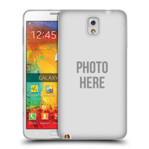 Silikonové pouzdro na mobil Samsung Galaxy Note 3 HEAD CASE s vlastním motivem