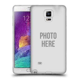 Silikonové pouzdro na mobil Samsung Galaxy Note 4 HEAD CASE s vlastním motivem
