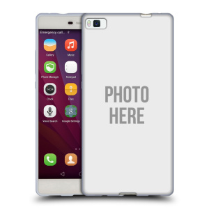 Silikonové pouzdro na mobil Huawei P8 HEAD CASE s vlastním motivem