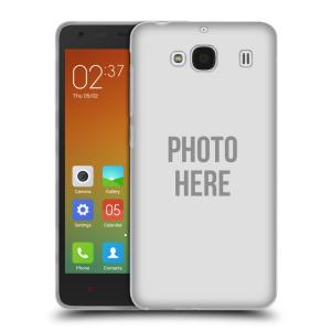 Silikonové pouzdro na mobil Xiaomi Redmi 2 HEAD CASE s vlastním motivem