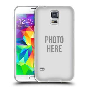 Silikonové pouzdro na mobil Samsung Galaxy S5 Neo HEAD CASE s vlastním motivem