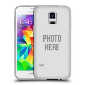 Silikonové pouzdro na mobil Samsung Galaxy S5 Mini HEAD CASE s vlastním motivem