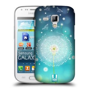 Plastové pouzdro na mobil Samsung Galaxy Trend HEAD CASE Rozlétaná pampeliška