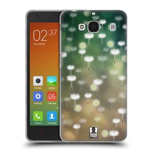 Silikonové pouzdro na mobil Xiaomi Redmi 2 HEAD CASE Pampeliškové padáčky