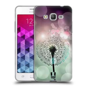 Silikonové pouzdro na mobil Samsung Galaxy Grand Prime HEAD CASE Pampeliškové odlesky