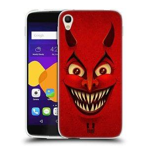 Silikonové pouzdro na mobil Alcatel One Touch 6045Y Idol 3 HEAD CASE ČERT