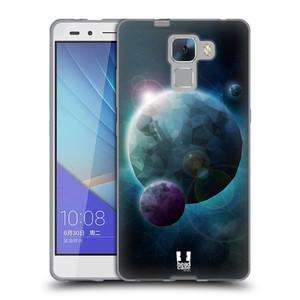 Silikonové pouzdro na mobil Honor 7 HEAD CASE UNIVERSE DISCOVER