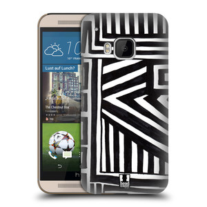 Plastové pouzdro na mobil HTC ONE M9 HEAD CASE DOODLE GEOMETRIC