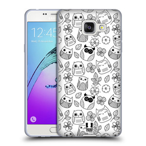 Silikonové pouzdro na mobil Samsung Galaxy A5 (2016) HEAD CASE SOVIČKY A KYTIČKY