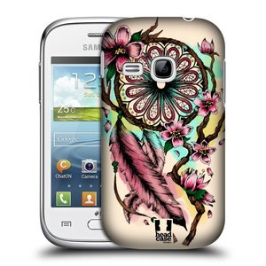 Plastové pouzdro na mobil Samsung Galaxy Young HEAD CASE BLOOM BLOSSOMS
