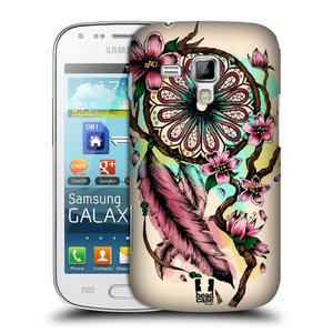 Plastové pouzdro na mobil Samsung Galaxy Trend HEAD CASE BLOOM BLOSSOMS