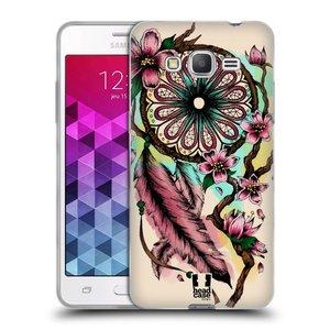 Silikonové pouzdro na mobil Samsung Galaxy Grand Prime VE HEAD CASE BLOOM BLOSSOMS