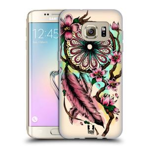 Silikonové pouzdro na mobil Samsung Galaxy S7 Edge HEAD CASE BLOOM BLOSSOMS