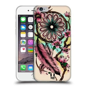 Silikonové pouzdro na mobil Apple iPhone 6 a 6S HEAD CASE BLOOM BLOSSOMS
