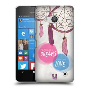 Plastové pouzdro na mobil Microsoft Lumia 550 HEAD CASE LAPAČ FEARLESS
